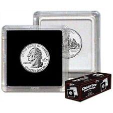 BCW 2x2 Premium Snaplock Coin Holders for Quarter 24.3mm 25 pack