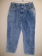 Vintage Zena Acid Wash High Waist 90's Mom Jeans Size 34 (34X28) (LOT-600)