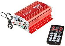 Kinter MA700 2 canali 12V DC USB FM Audio Speaker Amplificatore con telecomando