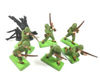 BRITAINS DEETAIL - WW2 US AMERICAN INFANTRY FULL SET SUPERB **WORLD SHIP** 2