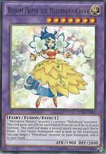 YU-GI-OH CARD: BLOOM PRIMA THE MELODIOUS CHOIR - RARE - SHVI-EN045