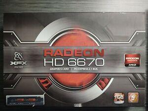 xfx radeon hd 6670 New Unopened Box