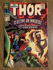 THOR #136 1ST SIFF AS ADULT STAN LEE STORY JACK KIRBY ART Odin
