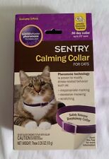 Sentry Calming Collar for Cats/Up to 15-Inch Neck/Economy 3-Pack/Pheromone Tech