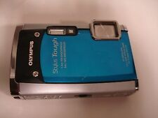 Very Nice Olympus Stylus Tough 6020 Digital 14MP Camera - Blue
