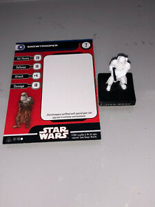 Star Wars Miniatures Alliance and Empire Snowtrooper #32