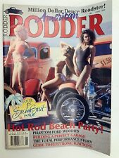 American Rodder Magazine June 1989