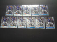 2019 Topps Chrome Corbin Burnes Rookie Lot x11 #84 RC Milwaukee Brewers