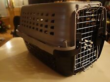 "PETMATE - CARRIERS Navigator Kennel Pet Carrier Grey/Black Size 19""  NEW"