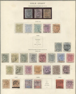 GOLD COAST ATTRACTIVE USED COLLECTION 1875-1954 ON SCOTT PAGES better incl. e.g.