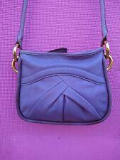 B Makowsky Lady's Purple Leather Handbag PLEASE READ NOTES