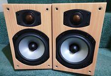 Monitor Audio Bronze B1 bi-wireable cherry bookshelf speakers in great condition