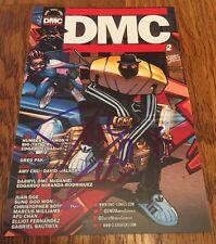 DARRYL DMC MCDANIELS SIGNED PROMO CARD COMIC BOOK RUN DMC RAP LEGEND WITH PROOF