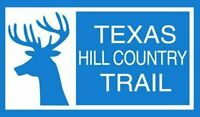 "5"" TEXAS HILL COUNTRY TRAIL RV ROUTE HELMET CAR  BUMPER STICKER DECAL"