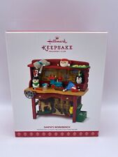 Hallmark 2017 Santa's Workbench Repaint, CLUB