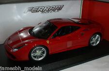 Burago Ferrari 488 GTB 1:18 Rojo