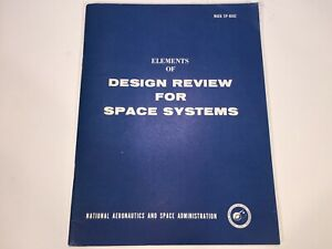Vintage 1967 NASA Saturn Rocket Apollo Design Review Space System Manual SP-6502