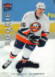 2006-07 Ultra #213 Rob Collins RC Rookie Card New York Islanders