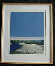 "PHILIP GREENWOOD RE b1943 ""Cotton Blue"" Limited Edition ETCHING 33/150"