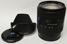 Sony/Zeiss DT Vario Sonnar 16-80 mm objectif A-mount caméras d'occasion (2)