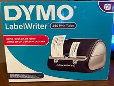 Dymo Label Writer 450 Twin Turbo Printer Machine 71 Labels Black Silver 1752266
