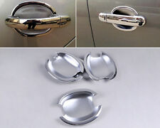 Silver Chrome Door Handle Cup Bowl Fit For SKODA Octavia Fabia Superb 2002-2007