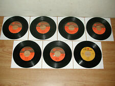 LOT OF 7 NANCY & FRANK SINATRA REPRISE 45 RPM RECORDS: COASTIN', MY WAY OF LIFE