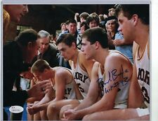 BRAD BOYLE Signed 8x10 Photo JSA COA HOOSIERS Whit #43 Inscription Autograph