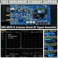 DDS AD9910 Arduino Shield 600MHz 1.5GSPS RF Signal Generator FREE SHIPPING