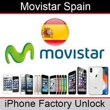 Movistar Spain iPhone Factory Unlocking Service (All Models)