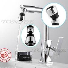 360 Rotate Swivel Faucet Nozzle Filter Water Saving Tap Aerator Diffuser DTGS CA