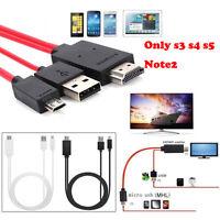 2017 MHL HML Micro USB a HDMI 1080p HD Cable de televisión ADAPTADOR