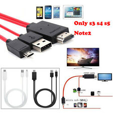 1.8m NHL HML Micro USB a HDMI 1080p Hd Tv Cable adaptador para Samsung Galaxy