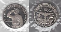 MARSHALL ISLANDS – 5$ UNC COIN 1990 YEAR KM#38 EISENHOWER