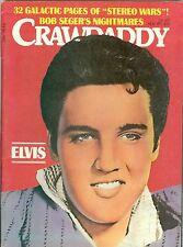 Elvis Presley cover Crawdaddy magazine November 1977