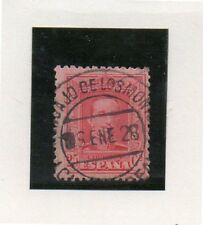 España Monarquias matasellos Horcajo de los Montes año 1928 (DF-876)