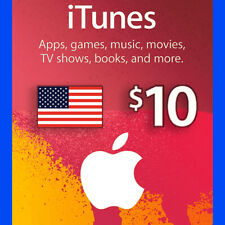 Apple iTunes Gift Card - $10 (USD) - American USA - 🔥 Instant Delivery🔥