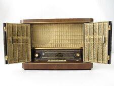 Siemens Röhrenradio H 42 mit Klapptüren, Transistorradio, Schatullenradio