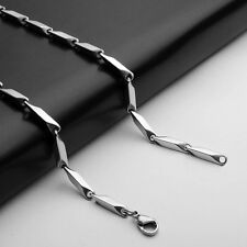 New Fashion Stainless Steel Chain Necklace For Men 3mm Wide 21 Inch