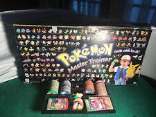 Pokemon Master Trainer Board Game 1999 *INCOMPLETE* - See Description & Photos