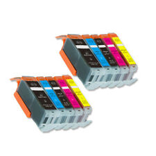 10 PK Printer Ink Compatible for Canon PGI-250 CLI-251 MG5500 MG5600 MG5620