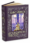 THE FOUNDATION TRILOGY by Isaac Asimov ~New Sealed ~ Leather Bound Gift Quality~