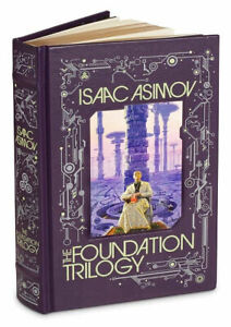 THE FOUNDATION TRILOGY by Isaac Asimov ~New Sealed ~ Leather Bound GIFT BOOK~