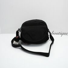 NWT New Kipling K15313 Stelma Crossbody Small Shoulder Bag Nylon Black Tonal $79