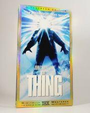John Carpenter's The Thing - 1982 (VHS Widescreen / THX Version) VGC Excellent