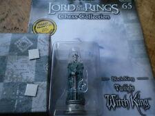 Eaglemoss Señor De Los Anillos Juego De Ajedrez 3 cuestión 65 Twilight Witch King Black King