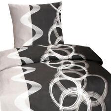 Bettbezüge mit Kreisen und Reißverschluss