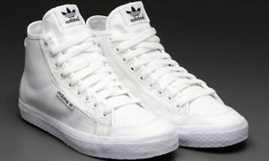 Women's Adidas Honey Mid Top Trainers (V22616)