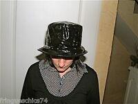 chapeau bob vinyle latex fétiche PATRICE CATANZARO haut de gamme NEUF ÉTIQUETTE