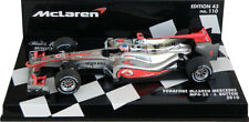 Minichamps McLaren Mercedes MP4-25 Race Version 2010 - Jenson Button 1/43 Scale